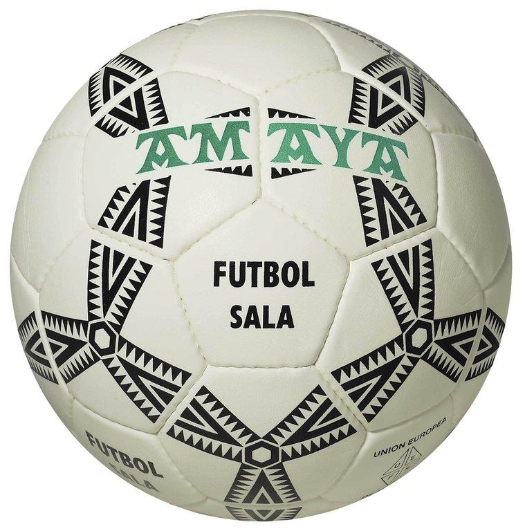 Balón fútbol sala cuero cosido 74df6f61a16d1