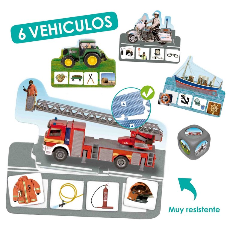 Vehicles de professions