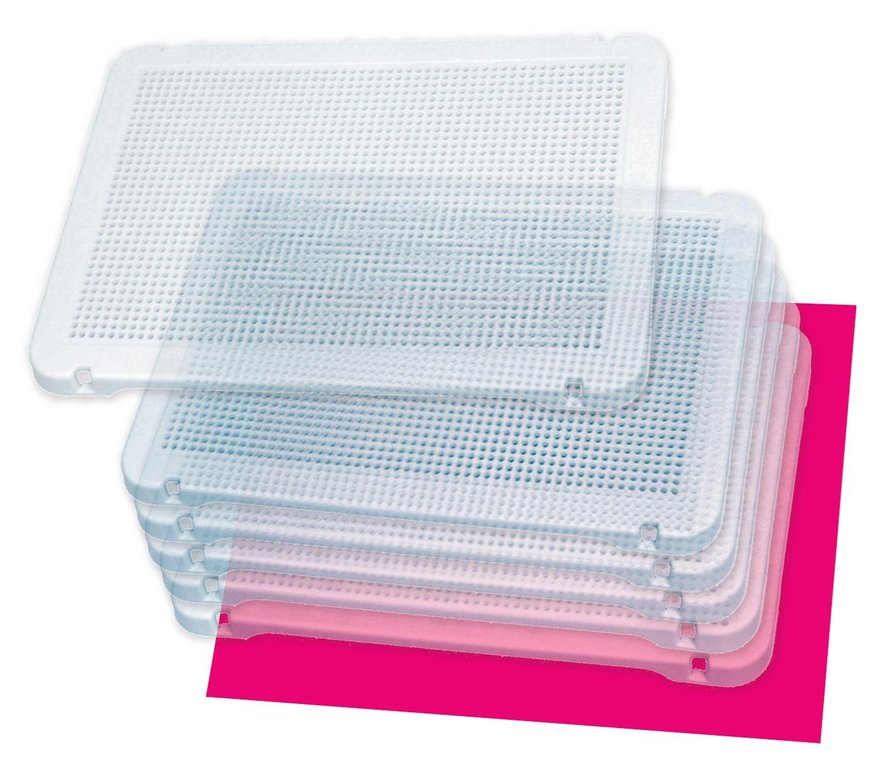 Pegs board transparente 31x21 mm