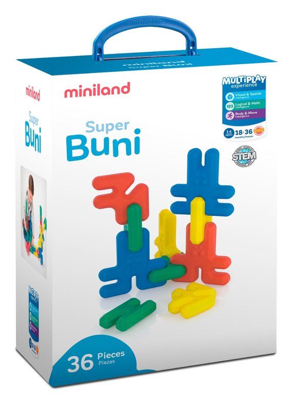 Buni super 36 pcs / estuche
