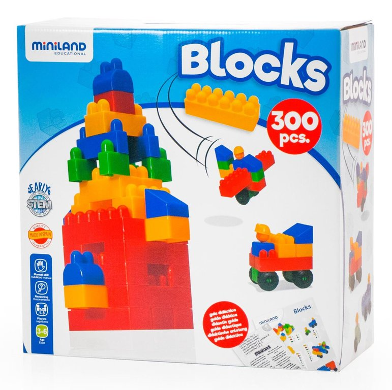 Blocks 300 pcs / maleta