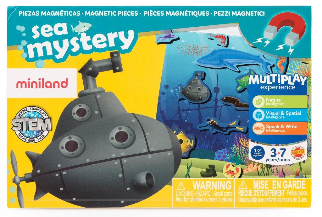 On the go discover: sea mistery